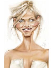 Incredible Caricatures of Celebrities