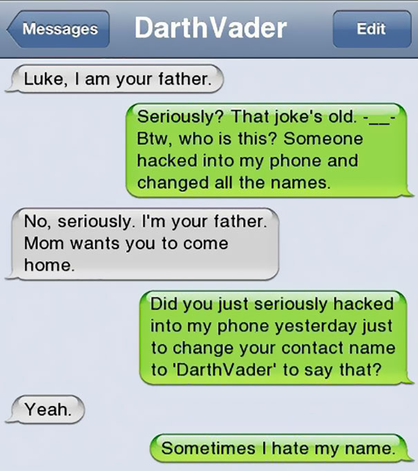 Hilarious Text Messages