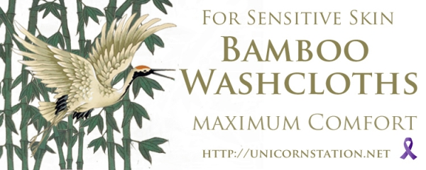 Naturally anti-fungal & hypoallergenic bamboo washcloths are unique