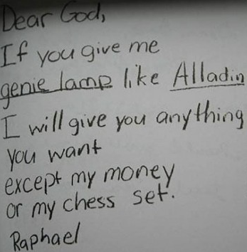 Letters From Kids To God