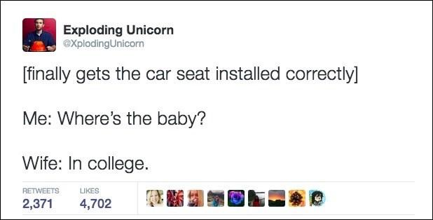 dad tweet posts