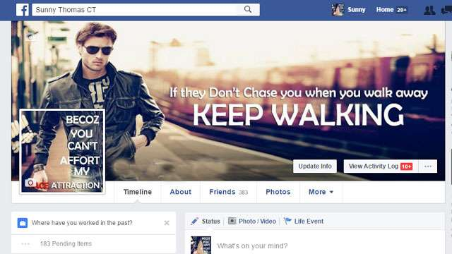 Funny Facebook Timeline Cover Photos