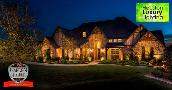Five Star Rated Houston Tx Landscape Lighting Design Intstallation Services