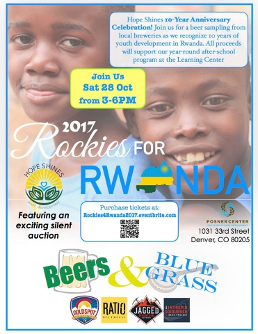 help disadvantaged rwanda children with better education at this denver charity