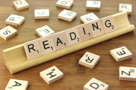 reading english sign