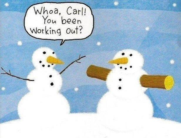 Fitness Cartoons