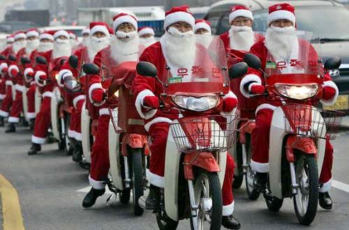 hilarious santa class card picture