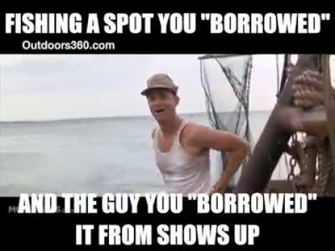 funny fishing hunting memes