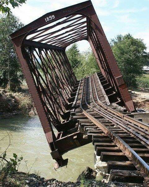 ghost town structure bridge picture image