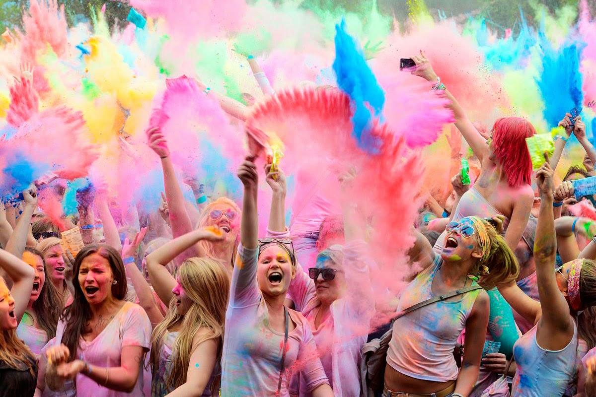 holi festival colors india holiday