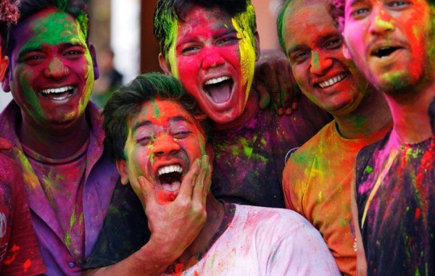 holi spring festival color india