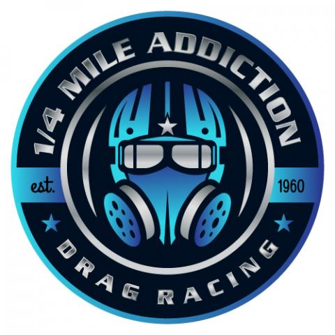 vintage drag race gassers featured on premium t shirts by quarter mile addiction