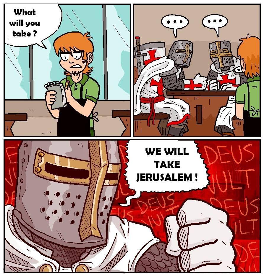 crusade knight memes