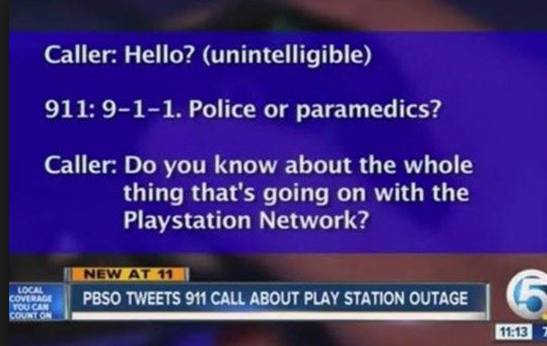 funny 9111 calls