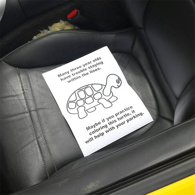 Bad Parking Notes