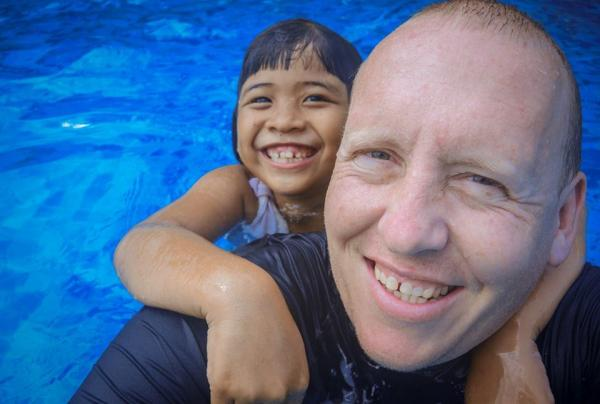 learn how melbourne best school photography shoot underwater swim lesson company