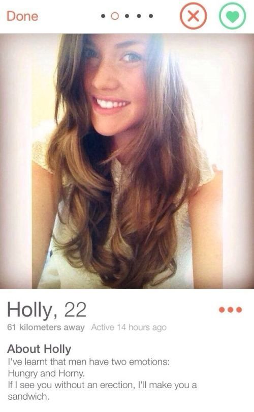 Funny Tinder Profiles