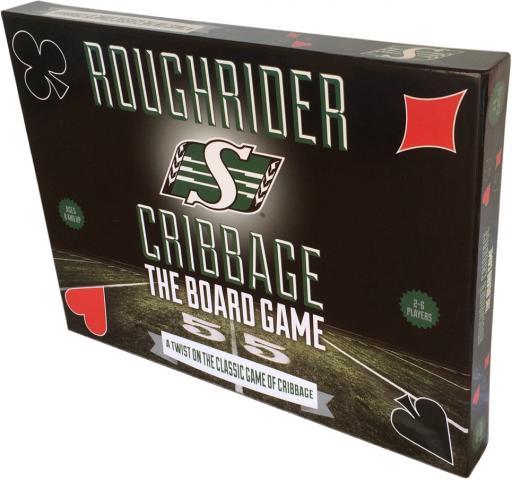 cribbage saskatchewan roughrider football collectible limited game edition