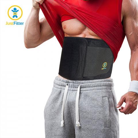 impressed user recommends just fitter waist trimmer belt as the best