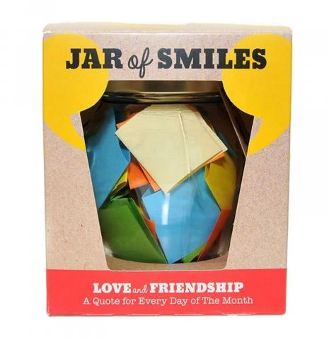 spread joy amp mindfulness with this new quote filled jar from smiles by julie f