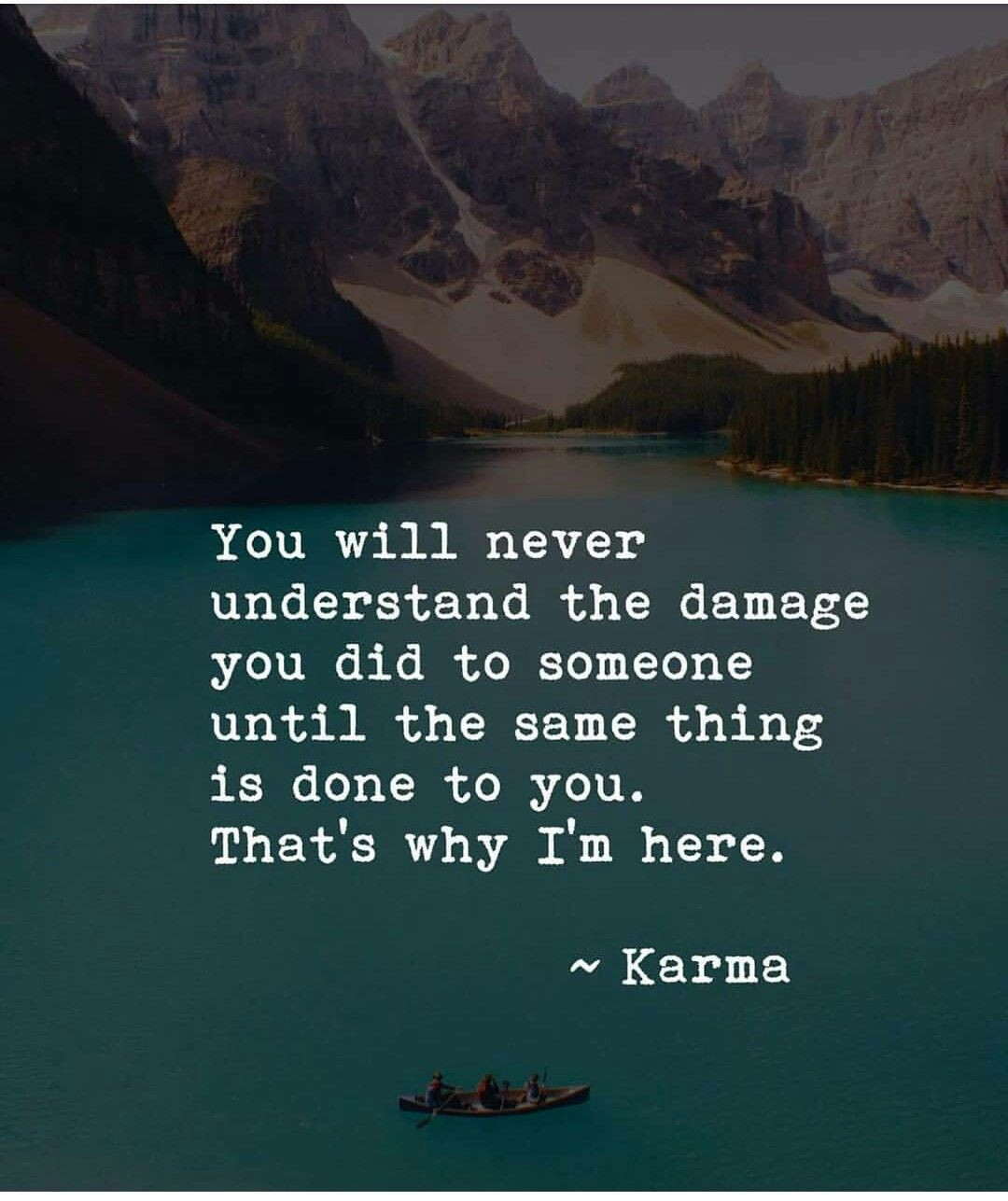 3 Deep Karma Quotes & Sayings That Go & Come Around In Your Life