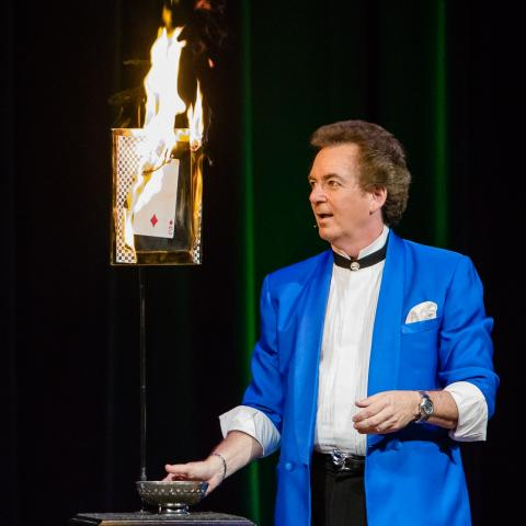 as a houston entertainer and professional magician performing at prestigious soc