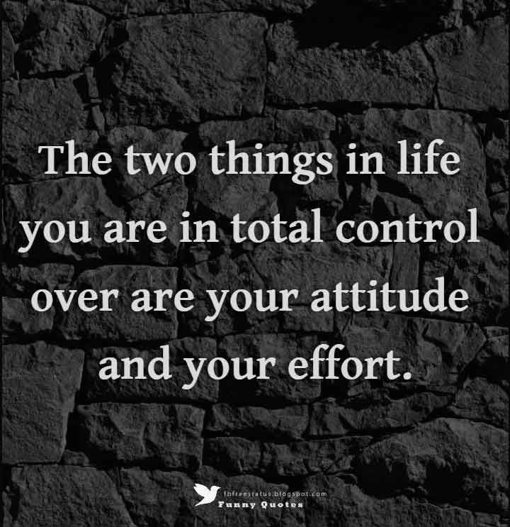 attitude quotes sayings