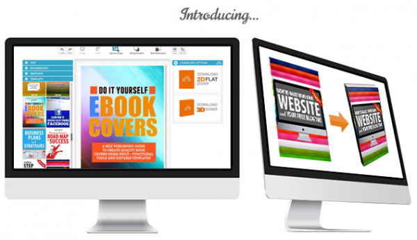Get The Best Ebook Cover Builder Saas Professional Graphic Art Creation Software
