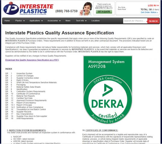 interstate plastics seattle has established itself as a significant material dis