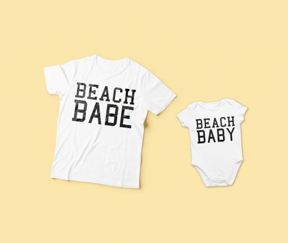 new baby apparel that can match moms clothes