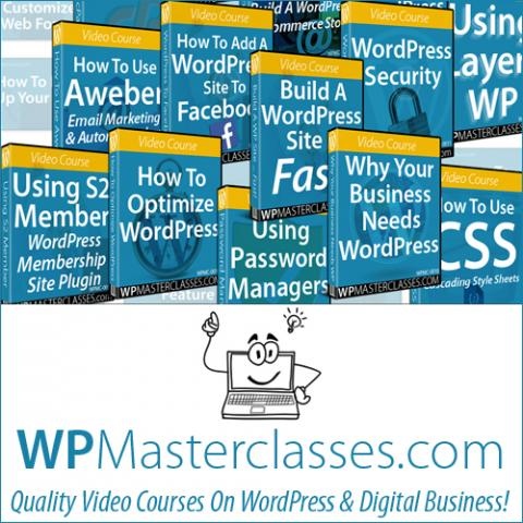 master wordpress amp improve your web presence with wp video courses from wpmast