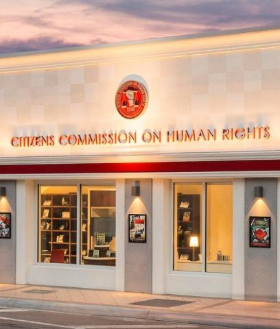 cchr held an exhibit in miami presenting shocking evidence of mental health abus