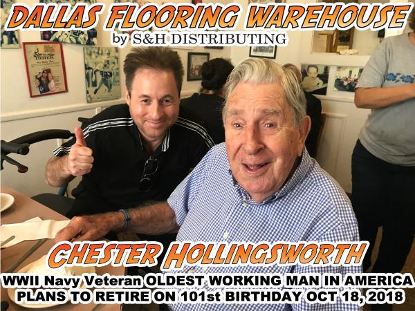 Chester Hollingsworth A Wwii Navy Verteran And