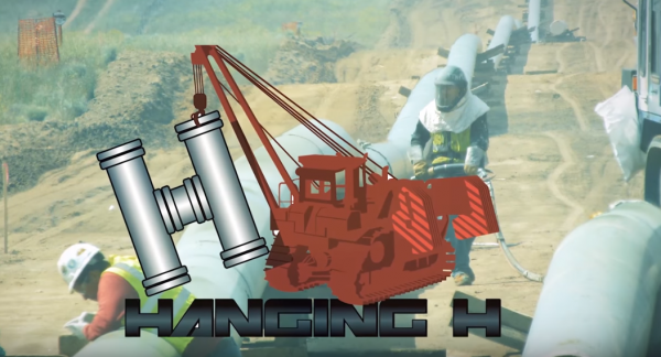 hanging h companies announces successful pipeline hydrostatic testing for fortun