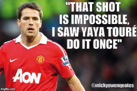 Michael Owen Football Commentary Quotes
