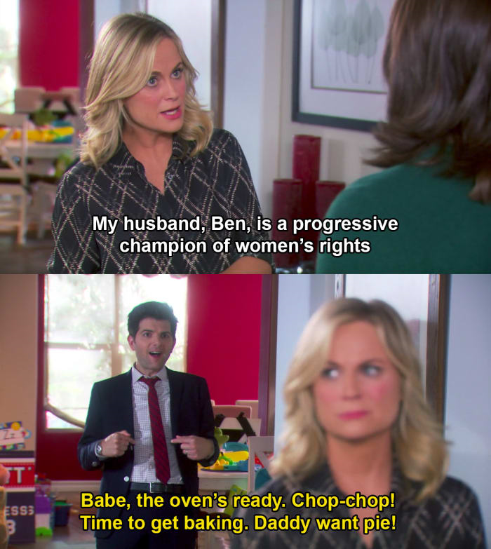 funny parks and rec meme