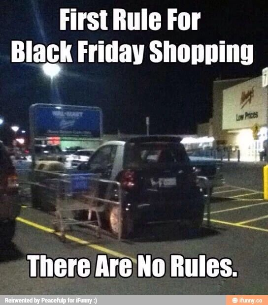 17 Funny Black Friday Memes That Reveal The True Customers