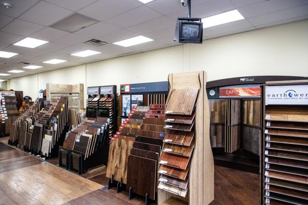 engineered hardwood harvest beigins at dallas flooring warehouse in the colony t