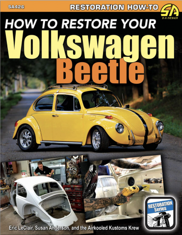 new book from cartech and airkooled kustoms how to restore your vw beetle