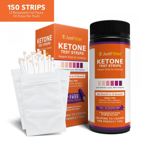 impressed user post video review for just fitter keto urine testing strips