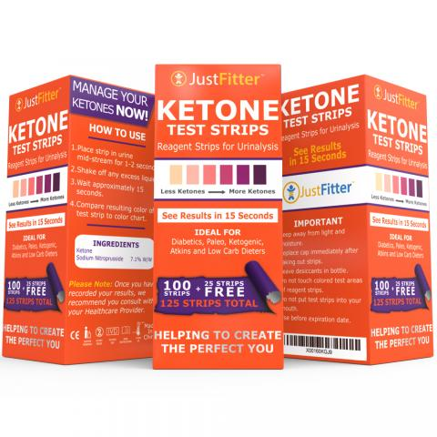 just fitter ketone test strips recommended by amazon shopper