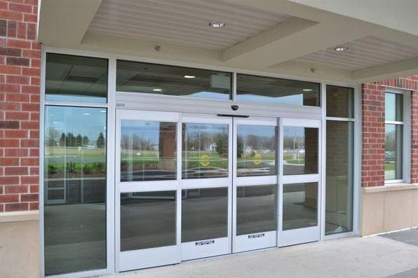 get award winning automatic door installation for retail healthcare security ind