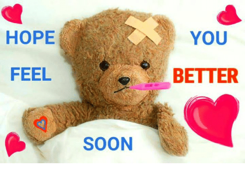 feel better soon memes