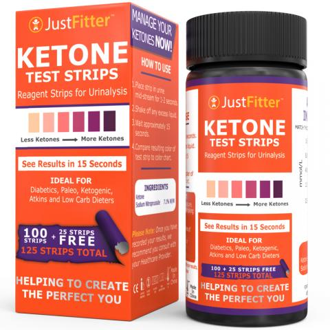impressed amazon shopper posts review to recommend just fitter ketone test strip