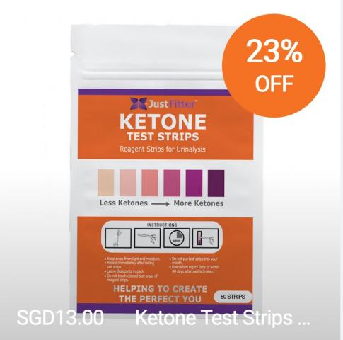 new just fitter video discusses where to buy ketone test strips in singapore