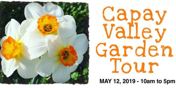 the capay valley garden tour set for mother s day on may 12 2019 10 am 5 pm