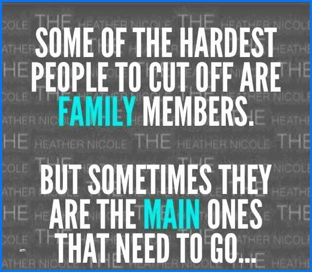 inspiring toxic family member quotes to help you break