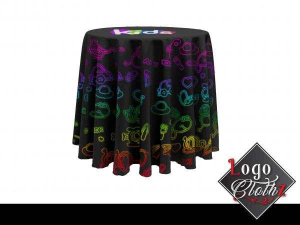 get branded round table designs for your trade shows amp events with this homest