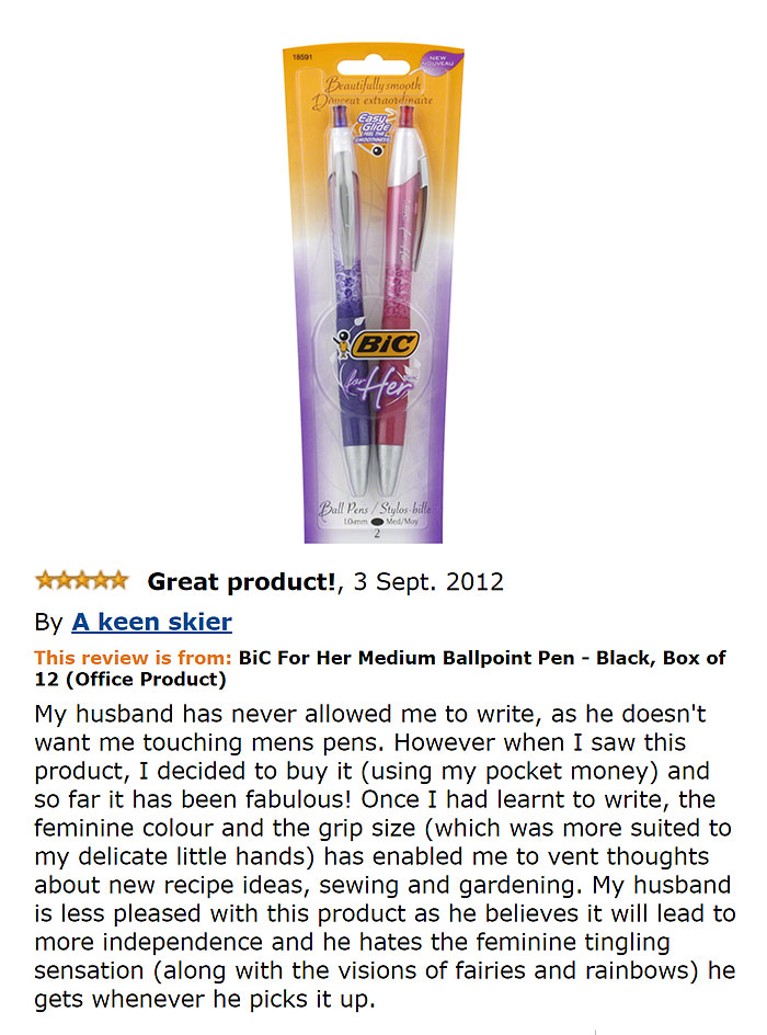 funniest amazon reviews