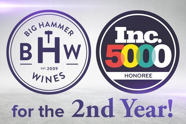 inc 5000 honors top entrepeneur big hammer wines at phoenix gala in october